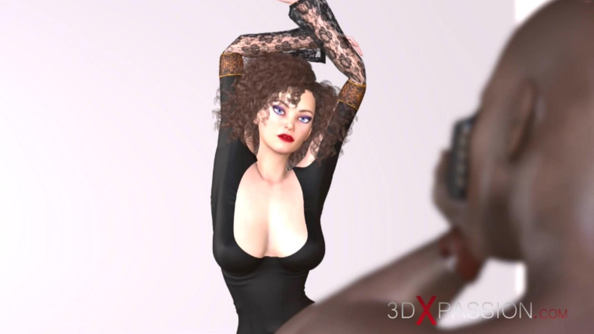 elegant woman photoshoot studio black photographer
