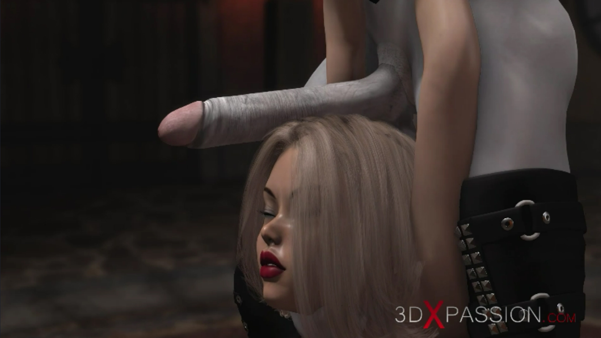 Hot girl slave gets fucked hard by satanic witches