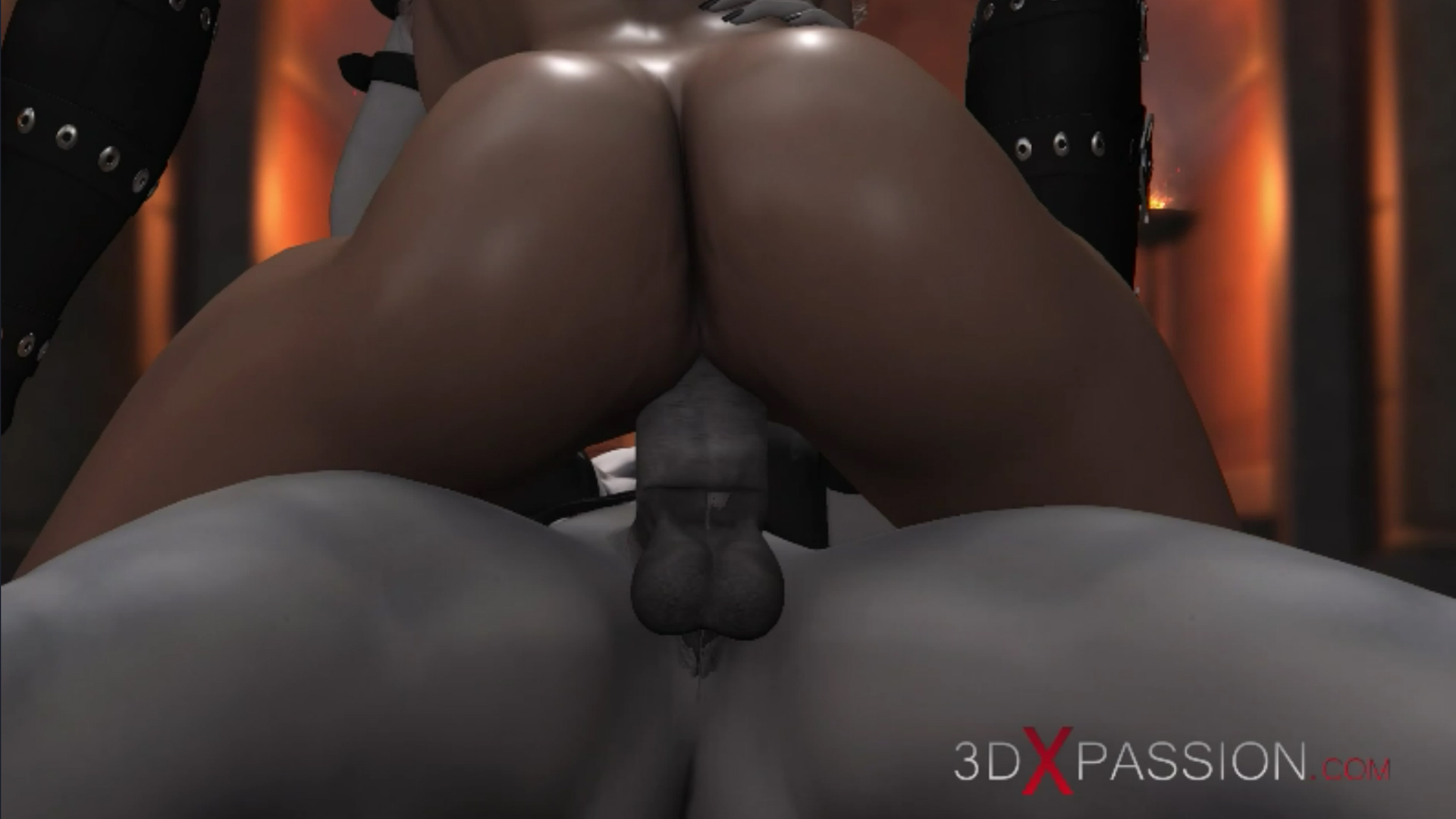 Hot girl slave gets fucked hard by satanic witches in the dark castle cowgirl