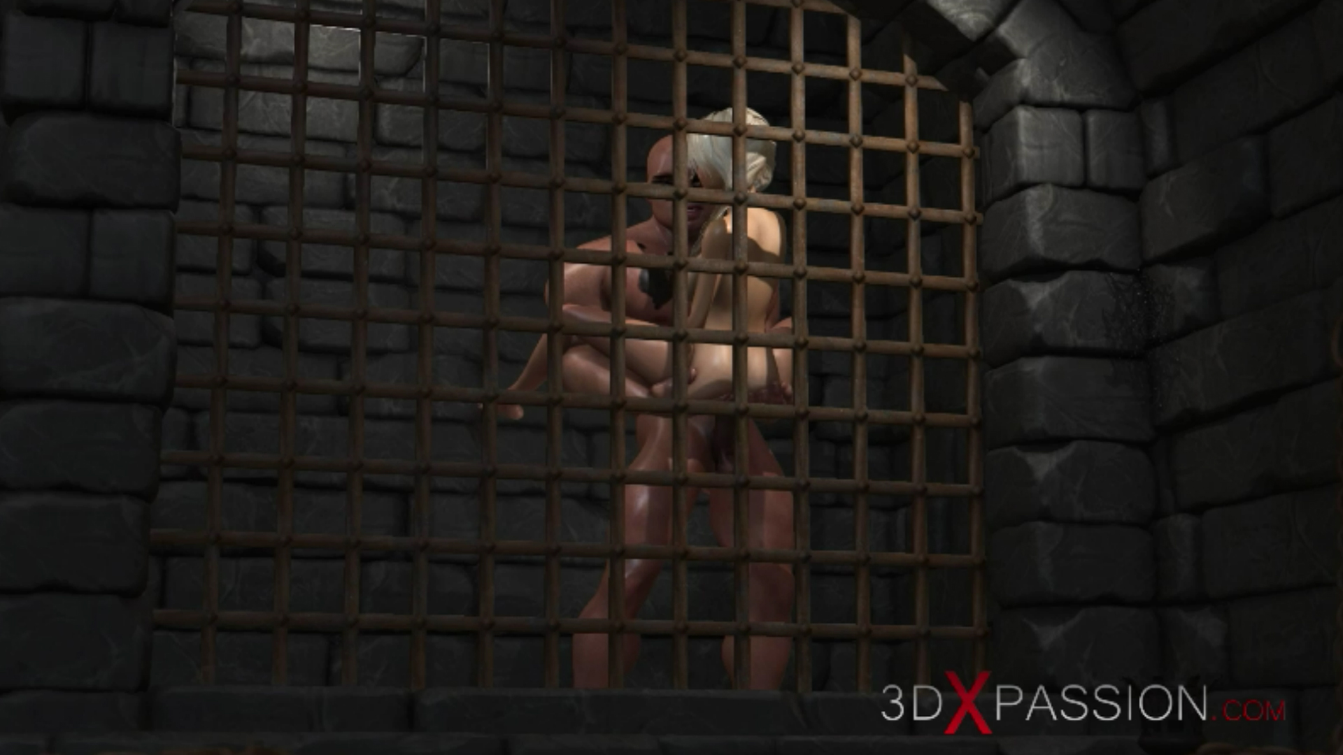 Young countess virgin standing fuck big cock in dark prison