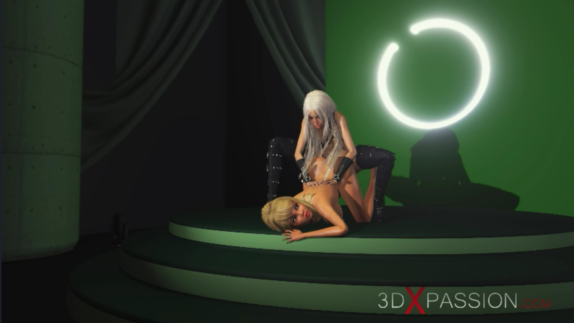 horny blonde girlfriend ass fuck 3d shemale fashion model podium