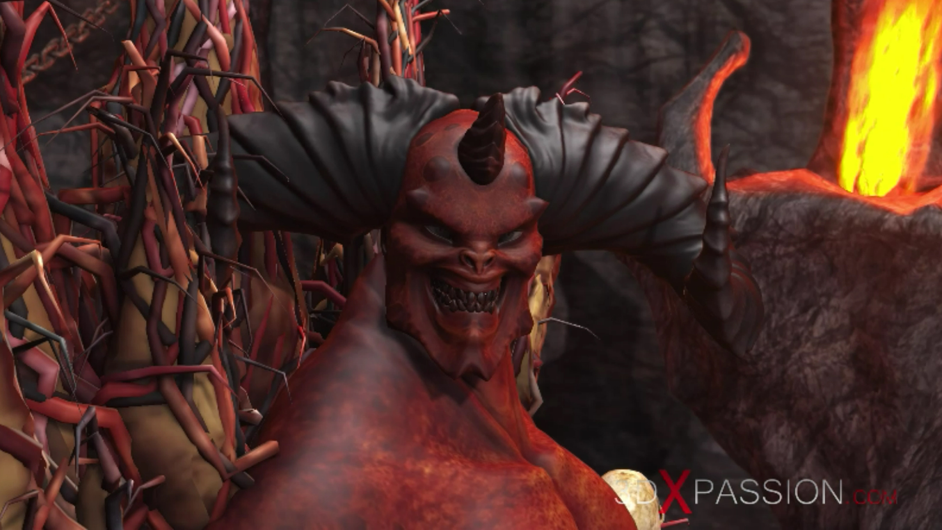 3dxpassion animation devil inferno