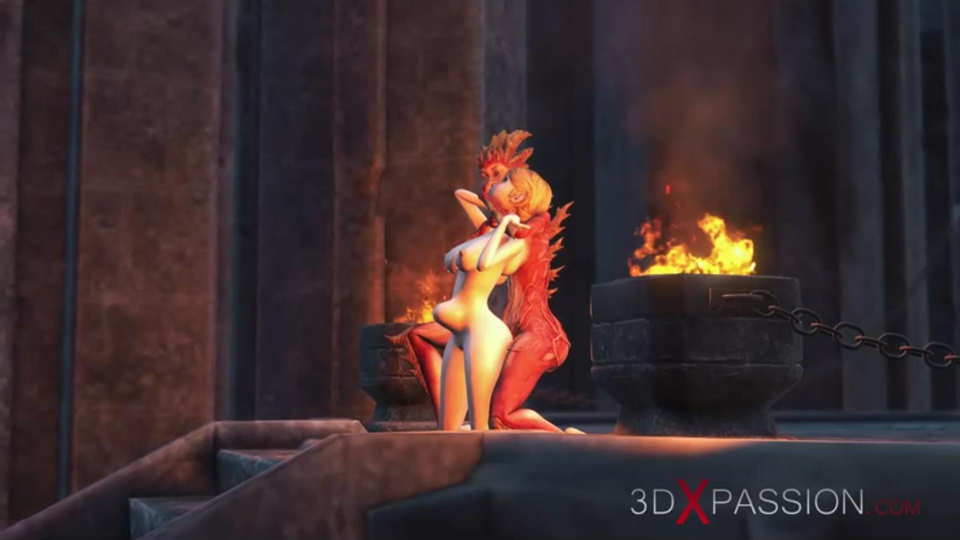 Lilith ass fucking hard sex slave dark castle