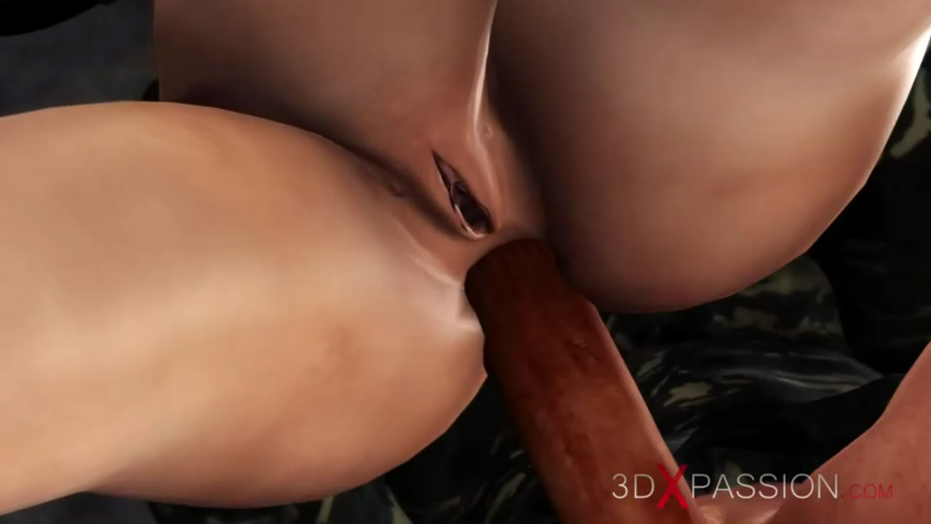 First time hard ass fuck for horny japanese college girl slave military base camp