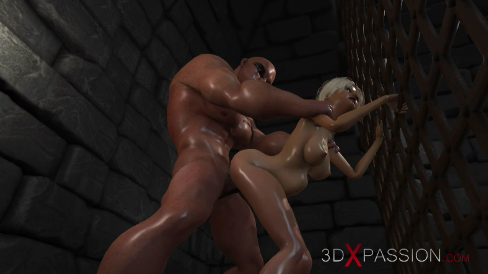 Young countess virgin doggystyle big cock in dark prison