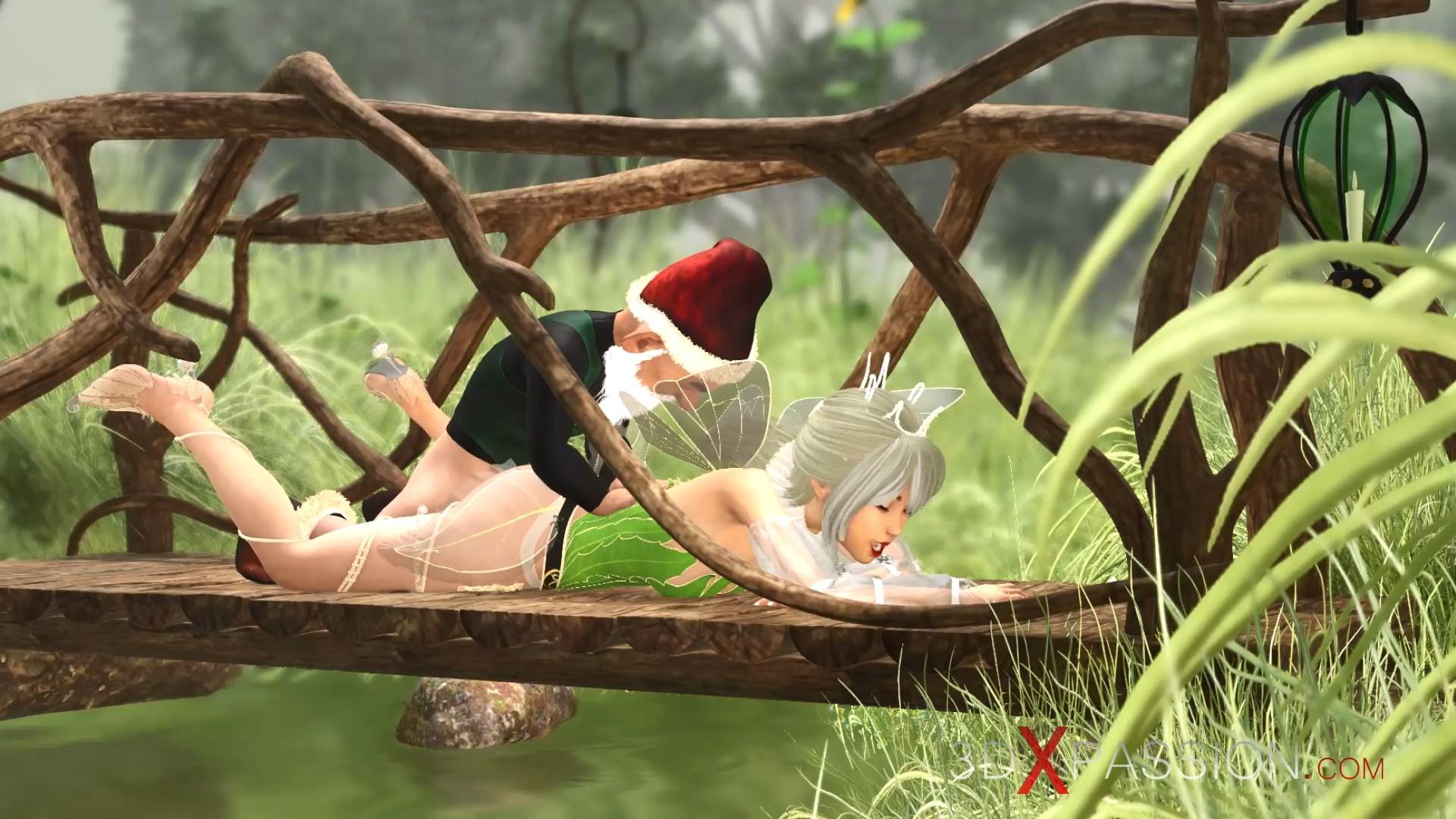 Horny beautiful teen fairy gnome village ass fuck